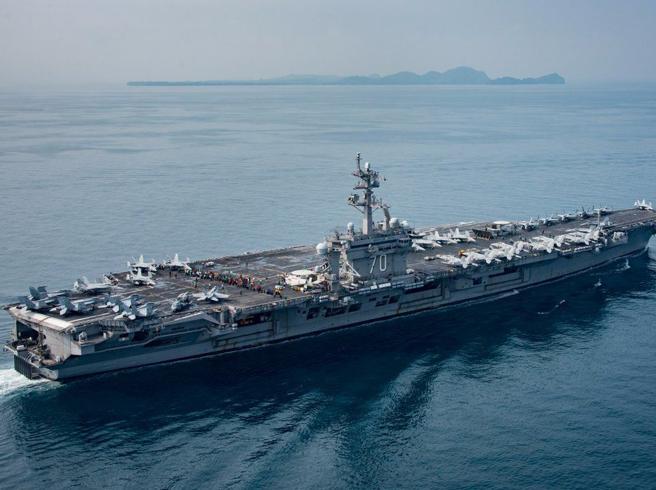 Corea del Nord,  la portaerei americana è ancora lontanaDove può trovarsi l'«Armada»