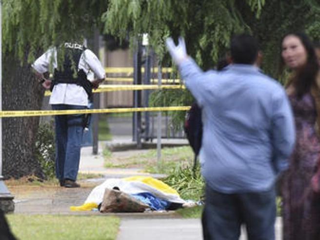Usa: uccide tre persone in California «ha urlato Allah Akhbar»