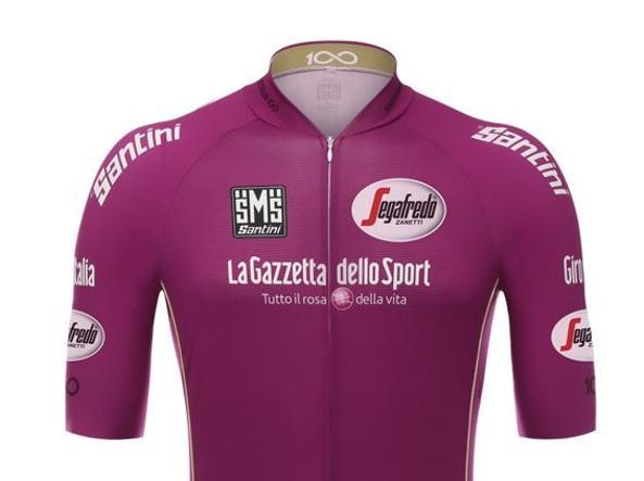 Giro: torna la storica maglia Ciclamino