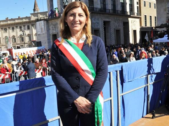 Giusi Nicolini, sindaco di Lampedusa (Newpress)