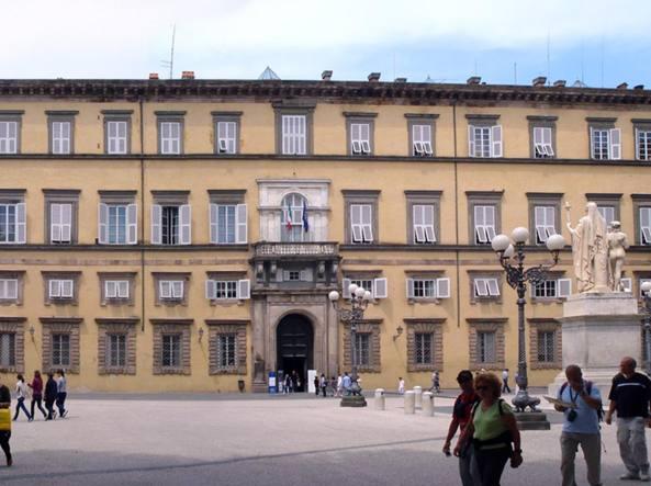 Il Palazzo Ducale di Lucca, oggi sede della Provincia