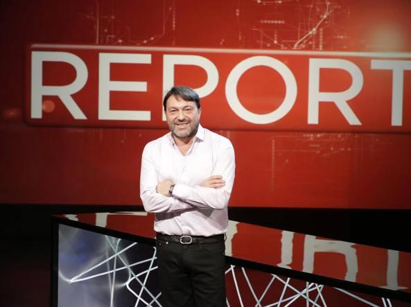 Il conduttore di Report, Sigfrido Ranucci (Ansa)