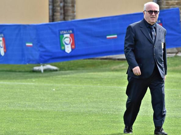 Carlo Tavecchio, presidente della Figc (Ansa)