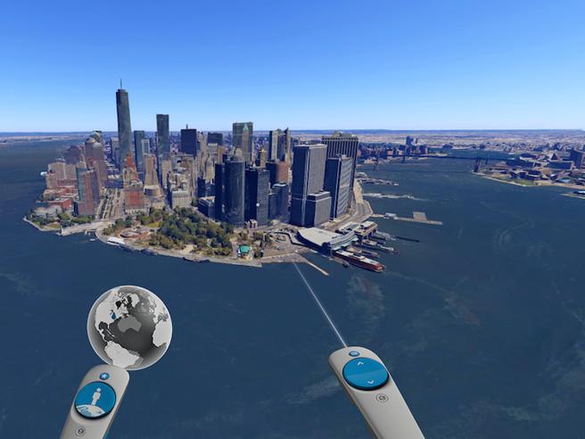 Su Google Earth Vri tour «organizzati» in giro per il mondo