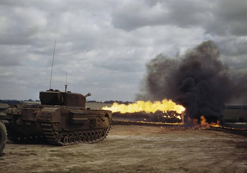 Uno sputafuoco corazzato