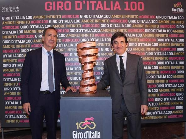 Il sindaco di Milano Giuseppe Sala insieme a Urbano Cairo editore di Rcs