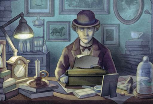 Un'immagine tratta da «The Franz Kafka Videogame»