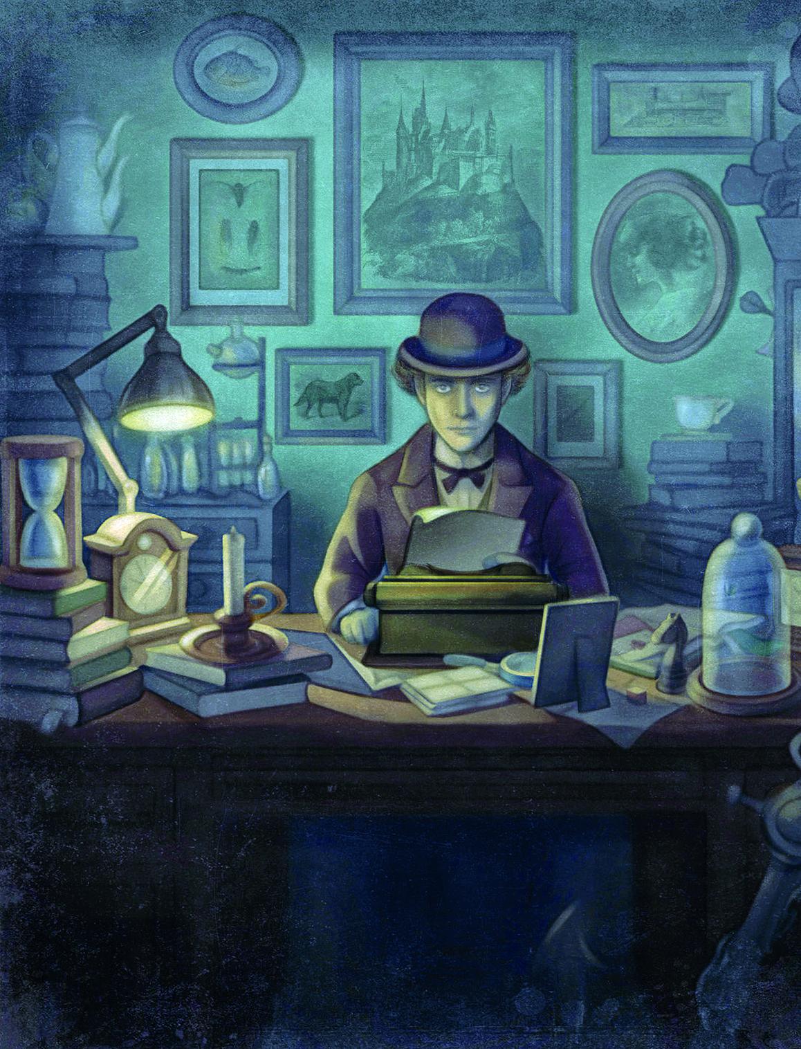 Un'immagine tratta da The Franz Kafka Videogame