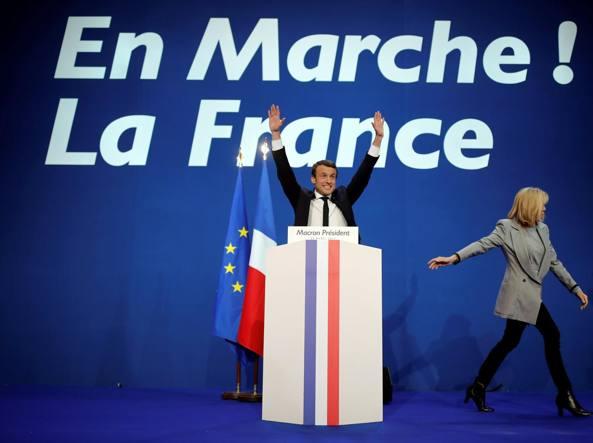 Presidenziali francesi: al ballottaggio Emmanuel Macron e Marine Le Pen