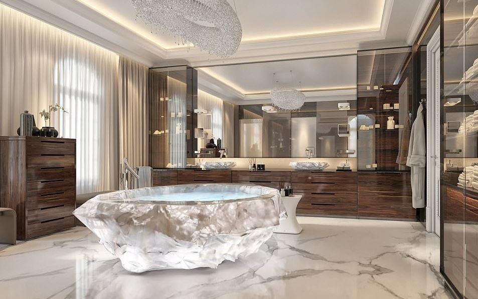 Dubai xxii carat il complesso residenziale extralusso con vasche da bagno da 1 milione di - Vasche da bagno di lusso ...