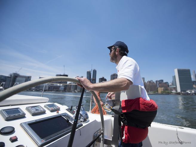 Usa-Italia in catamaranocon uno skipper in carrozzina