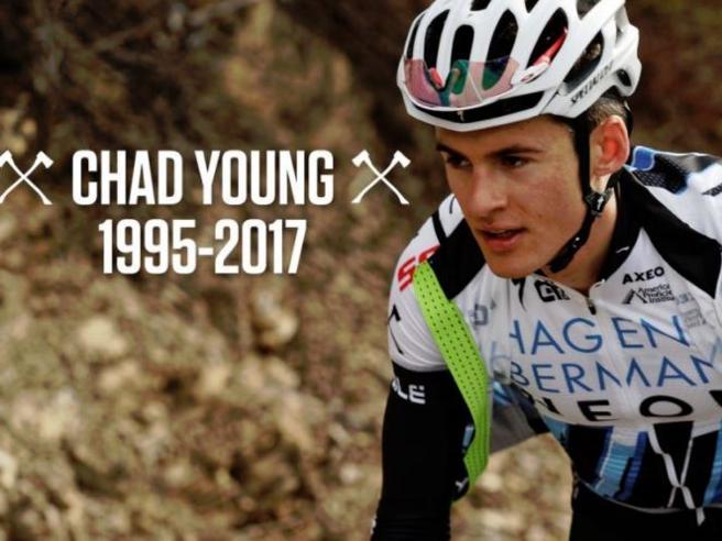 Usa, il ciclista Chad Young cade in corsa e muoreAtleti morti in bici