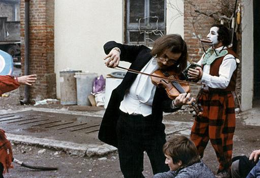 Maurizio Nichetti in una scena del film «Ratataplan» (1979)