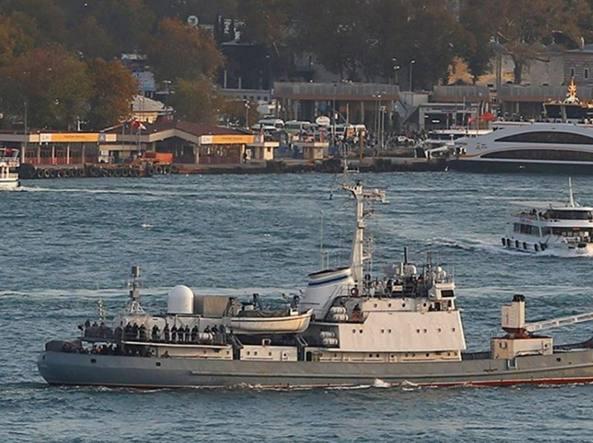Liman: la nave militare russa affondata nel Mar Nero