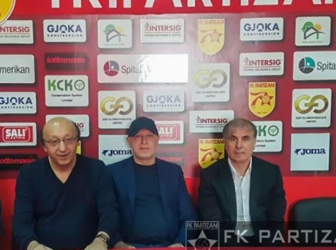 Luciano Moggi torna nel calcio Consulente per il Partizani Tirana