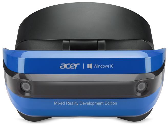 Acer presenta il primo visore al mondo per Mixed Reality: reale e virtuale convivono