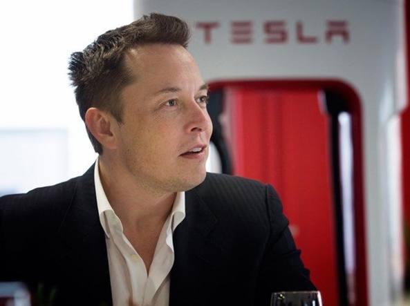 Il fondatore della Tesla Elon Musk