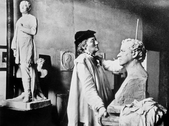 La scultrice femminista Elisabeth Ney di cui Schopenhauer si innamorò in tarda età