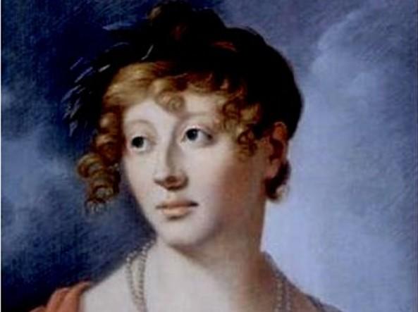 L'attrice Karoline Jagemann, amata da Schopenhauer, in un dipinto di Jakob Wilhelm Roux del 1803