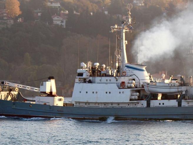 I misteri  della nave affondatanel Bosforo: quelle armi per la Siria e le (strane) manovre russe