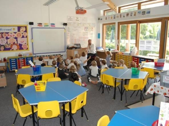 Un'immagine della Church of England Longparish School presa dal sito della scuola