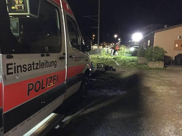Svizzera, spari a Sargans: ucciso un italiano fuori da un locale
