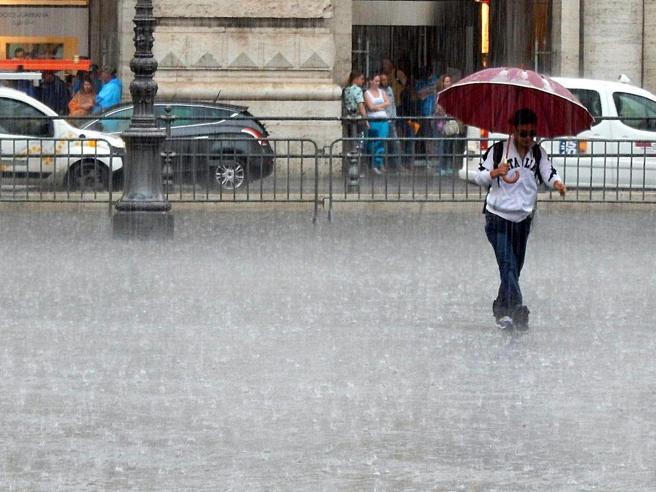 Piogge e temporali: dal Nord arriva  «Igor»   Le previsioni
