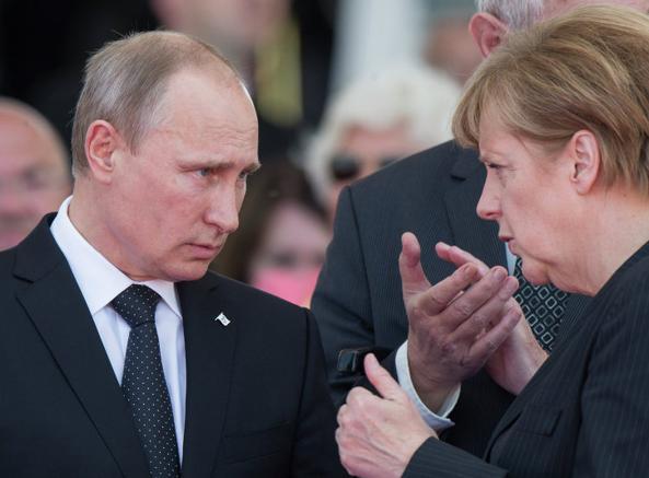 Russia-Germania: prove di dialogo, Merkel