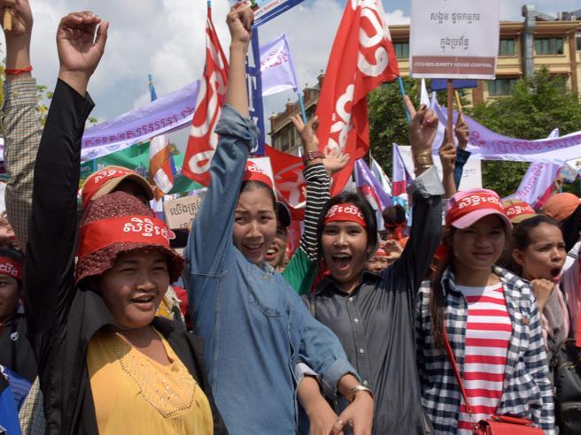 Il Primo maggio nel mondo tra manifestazioni, corteie proteste Immagini