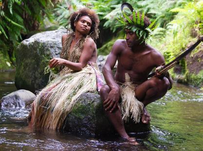 Marie Wawa e Mungau Dain protagonisti  di «Tanna»