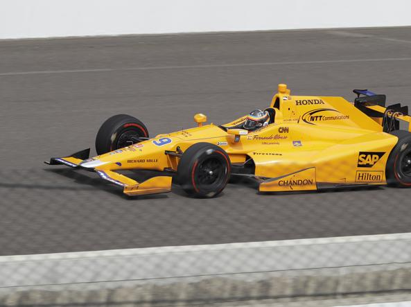 Alonso, debutto ad Indianapolis positivo