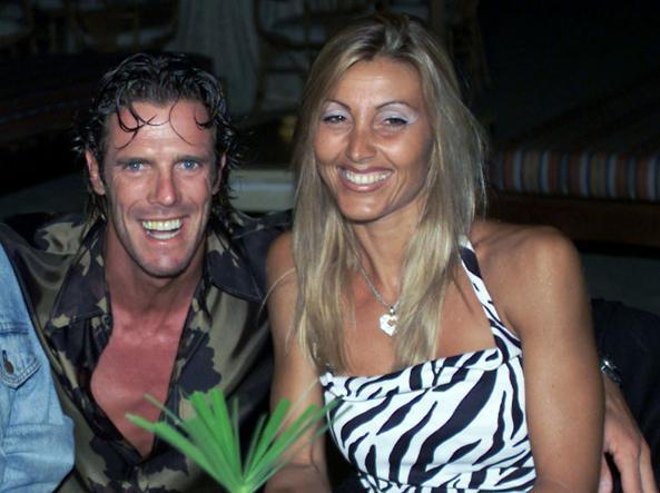Mario Cipollini e l'ex moglie Sabrina Landucci