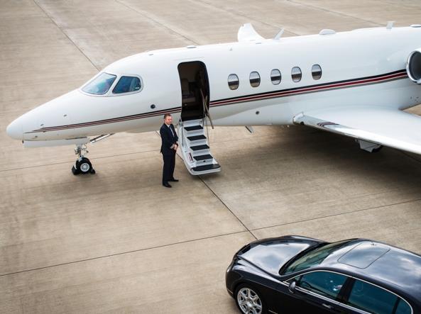 Jet Privato Roma Londra : Zero code lusso e euro all ora così si vola a bordo