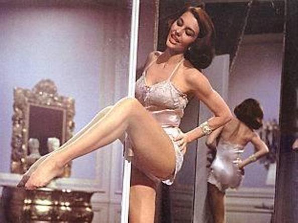 L'attrice americana Cyd Charisse
