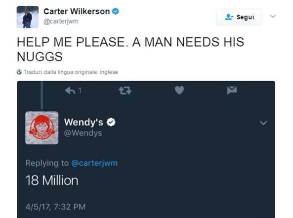 Carter e i suoi nuggets: il tweet più ritwittato di sempre