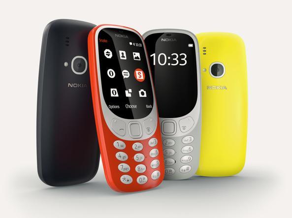 Nokia 3310, il remake arriva in Italia il 25 maggio