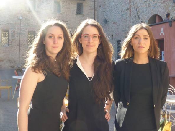 Da sinistra: Martina Grassi, Sabrina Magris, Francesca Fanti