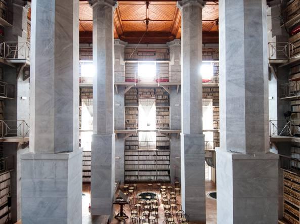 L'Archivio storico comunale di Palermo (foto: Pucci Scafidi)