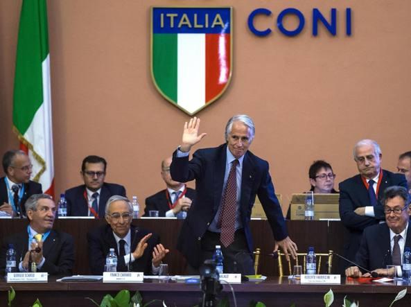 Giovanni Malagò confermato presidente del Coni © Coni