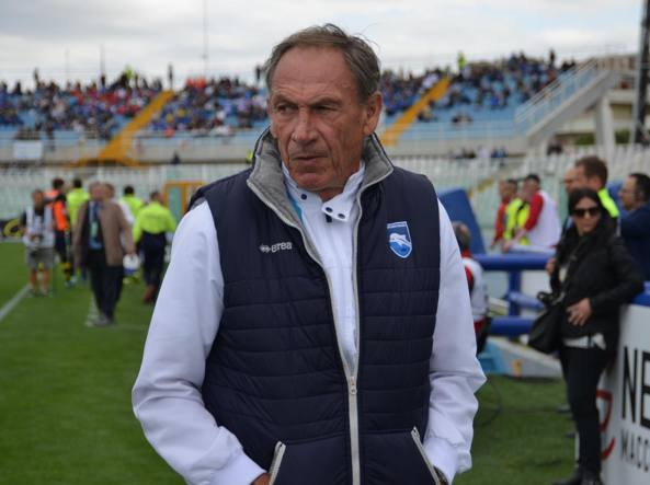 Pescara, visita speciale per i 70 anni di Zeman