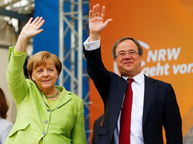 Germania,  Cdu di Merkel in vantaggio  L'Spd di Schulz crolla di nove punti