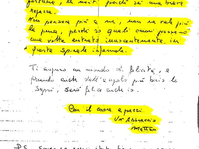 Messina Denaro, l'ultimo boss in fuga e quella lettera d'amore «con il cuore a pezzi»