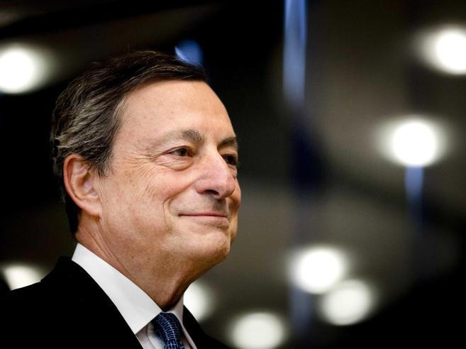 «La crisi economica è alle spalle»Così Draghi rilancia l'Eurozona