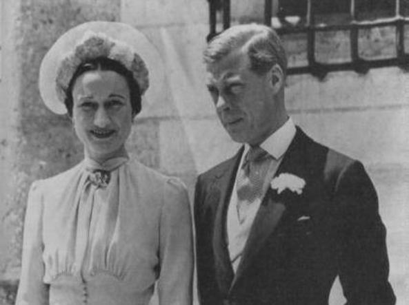 Wallis Simpson ed Edoardo VIII