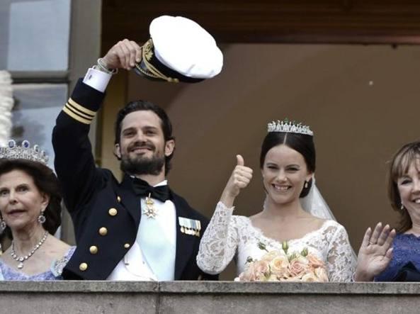 Carl Philip di Svezia e Sofia, sposi nel 2015