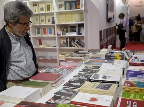 Un'immagine del Salone del Libro di Torino
