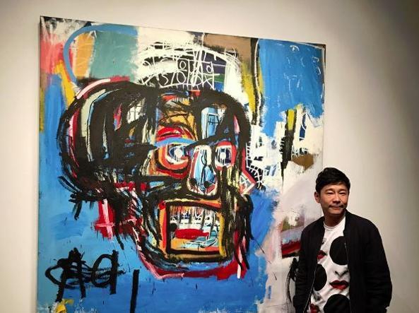 Usa, quadro di Basquiat venduto all'asta per 110 milioni Usd