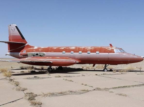 Il Lockheed Jetstar One del 1962 appartenuto a Elvis Presley