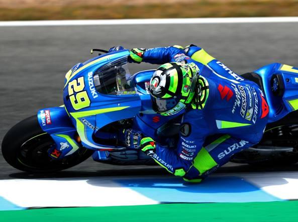 Inizio complicato Andrea Iannone in azione con la Suzuki: l'impatto con il nuovo team è stato difficile in questa parte iniziale della stagione (Getty Images)