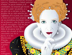 Particolare dell'illustrazione di Ciaj Rocchi e Matteo Demonte per «la Lettura» #286